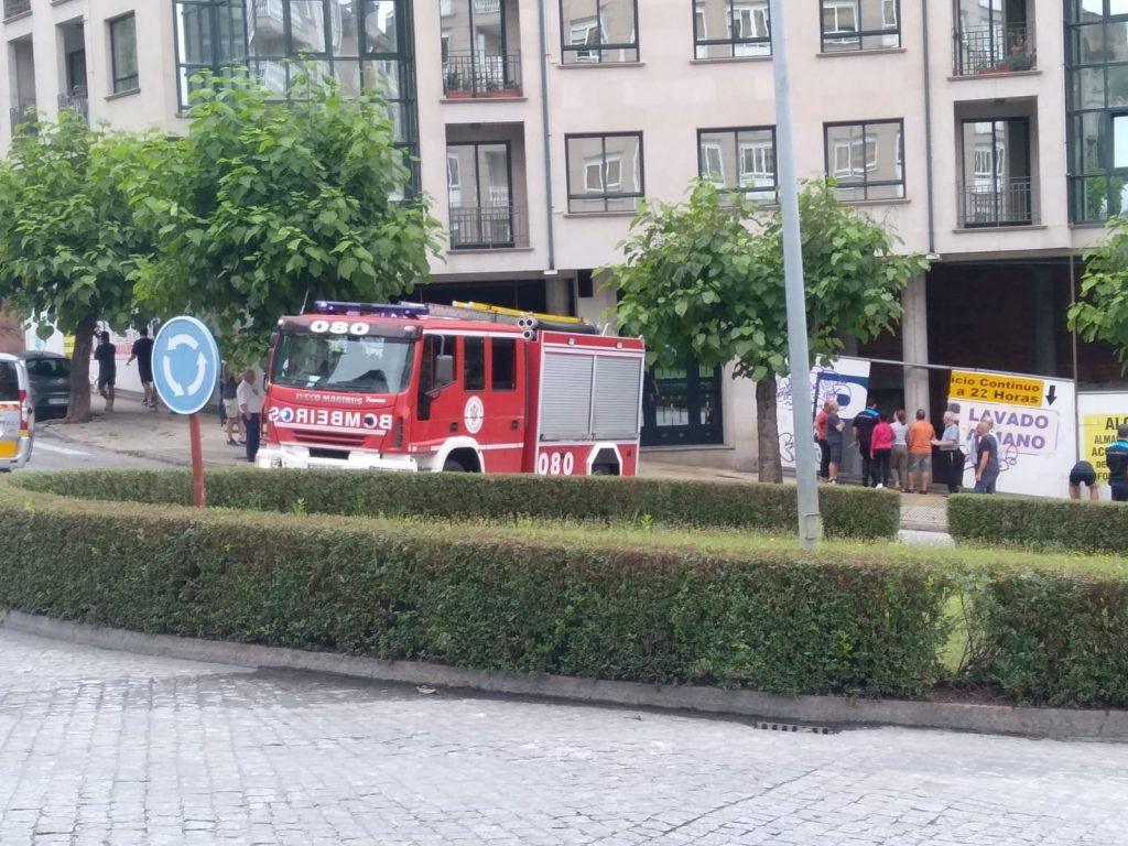 Accidente en avenida de Portugal