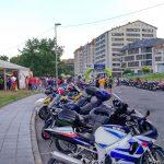 Concentración de motos en A Valenzá