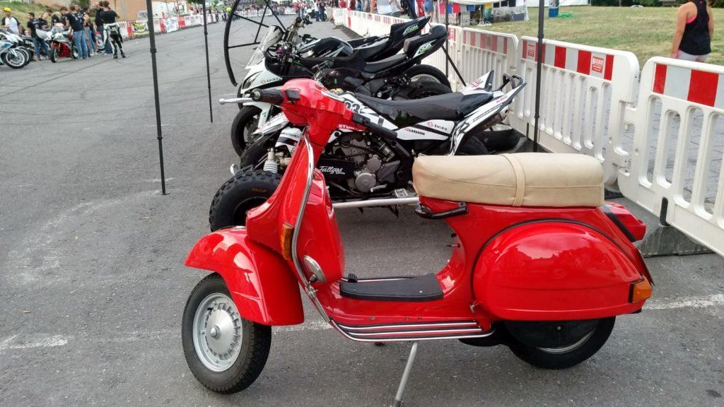 Exposición de motos
