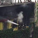 Incendio chabola en Puente Novísimo