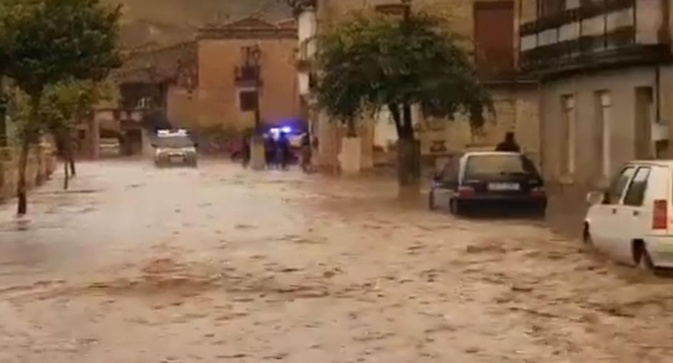 Lluvias en Ourense