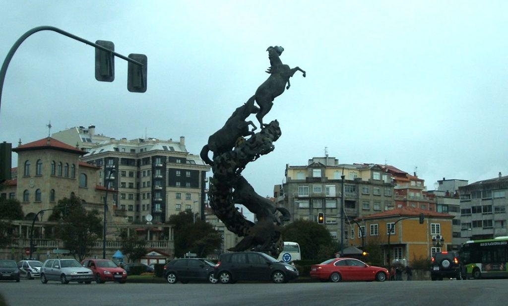 Plaza España de Vigo