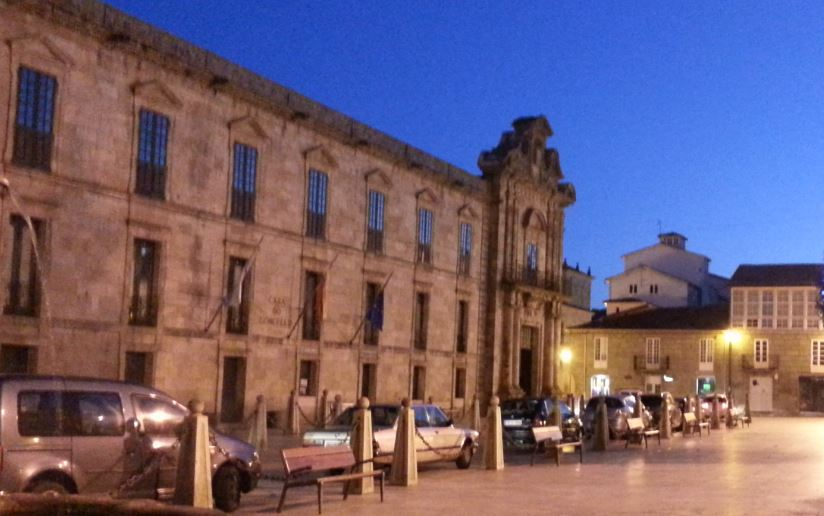 Plaza Mayor de Celanova