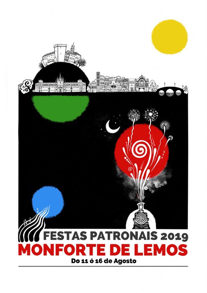 Cartel Fiestas de Monforte de Lemos 2019