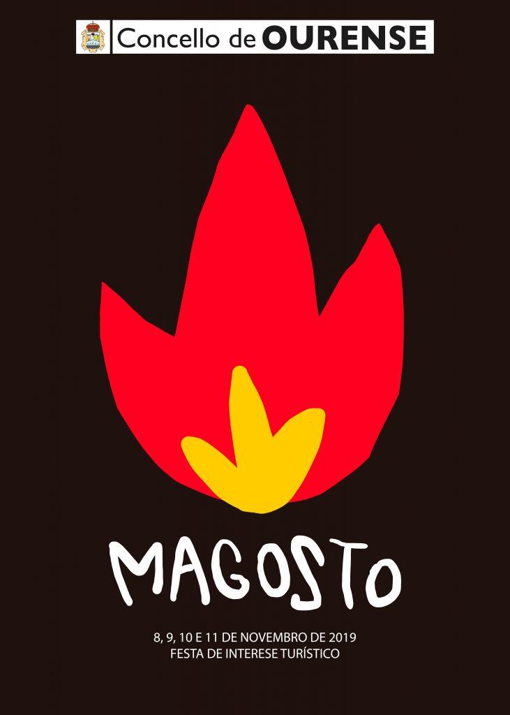 Cartel del Magosto de Ourense 2019