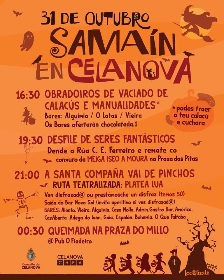 Celanova en Samaín 2019