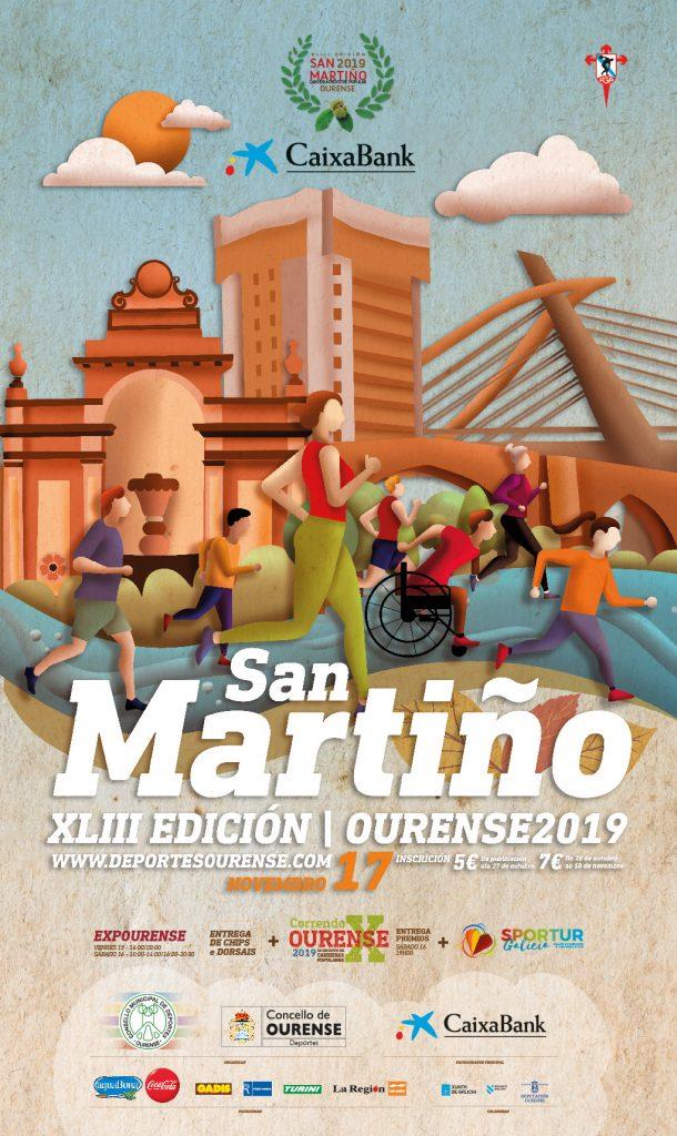 Cartel XLIII Carreira do San Martiño Ourense 2019