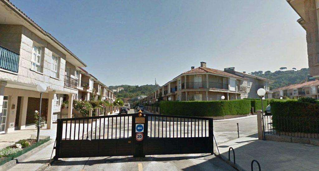 Urbanización A Porteliña de Ourense