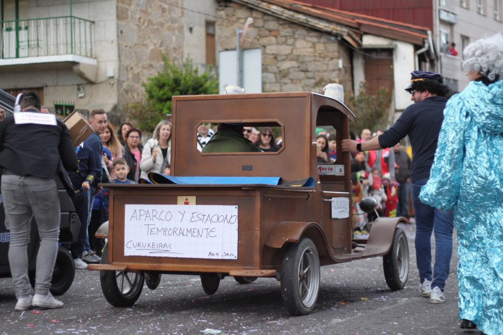 Desfile del carnaval 2020 en A Valenzá